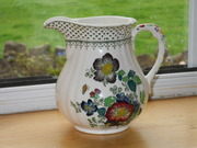 Mason's ironstone china jug paynsley pattern