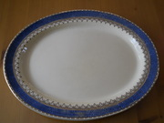 Booths silicon china morocco boarder serving/turkey platter